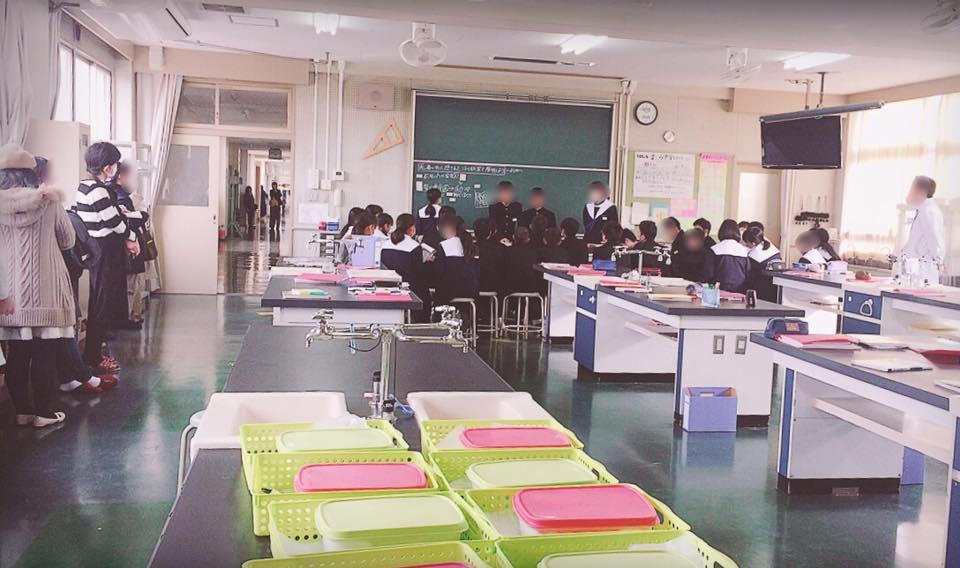 授業参観 理科