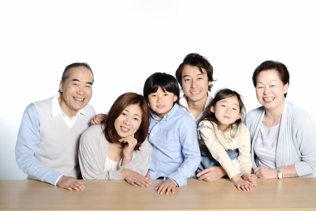 親子3代の写真