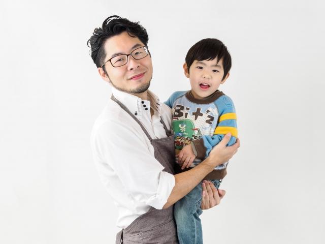 父と子の画像
